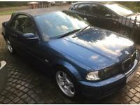 BMW E46 318ci CONVERTIBLE CAR 2002 - GREAT CONDITION NEEDS REPAIR - PLEASE READ FULL LISTING