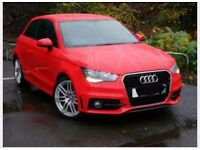 Audi A1 red excellent condition ... an amazing car not to be missed ... low tax.. low insurance..