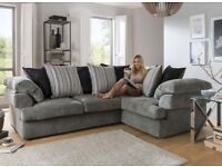 Gorgeous Rico corner brand new sofa(Extra chair)**Free delivery**