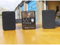 Hitachi ModelAXM898U Hi-Fi system.