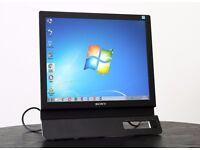 "Sony 17"" TFT Flat LCD Color PC / Computer Monitor DVD-D / VGA ports"