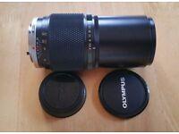 OLYMPUS OM ZUIKO MC AUTO T 200MM F4 Camera Lens. Excellent Condition