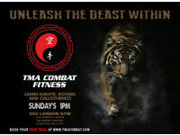 TMA Combat Fitness - Learn Karate, Boxing & Callisthenics in Palmers Green