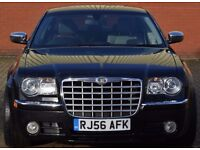 Chrysler 300C 3.0 CRD V6 4 dr ***SAT-NAV LEATHER SUN-ROOF*** 2007 (56 reg), Saloon,chain driven