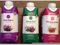 3x The Berry Company 330ml drinks - Acai Berry, Green Tea, Pomegranate