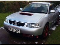 Audi a3 project car engine running but electrical problem no mot