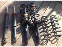 Mk5 Volkswagen golf 1.9 Tdi suspension shocks springs standard set up £100