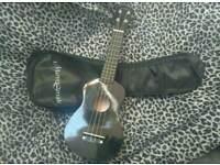 New black ukulele