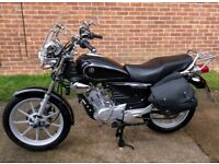 YBR Custom, Black, very good condition and very economical to ride.