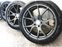 "20"" VW TRANSPORTER T5 T6 Bmw x5 x6 Range Rover alloy wheels"