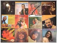 12 x vintage vinyl albums mixed genres