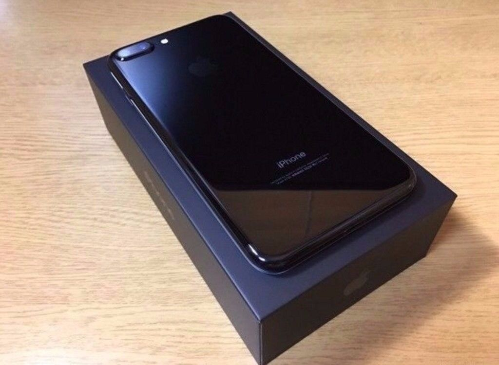 = With Receipt > Apple iPhone 7 128gb Jet Black On Vodafone Fully Boxed