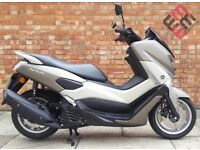 Yamaha NMAX 125 (16 REG), Excellent condition, Low mileage, Yamaha warranty.