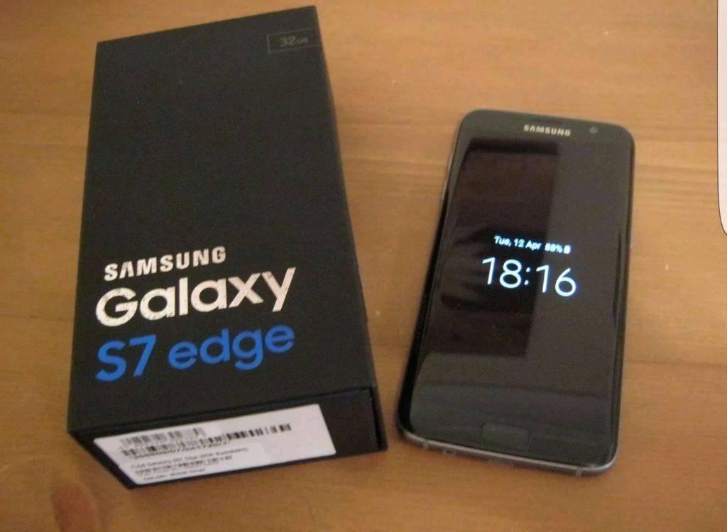 Brand new Samsung S7 Edge 32GB