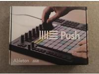 Push 1 and ableton live 9 suite!