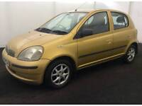 TOYOTA YARIS AUTOMATIC 5DOOR 12MONTH MOT 8SERVICES FROM TOYOTA EXCELLENT CONDITION HPI CLEAR