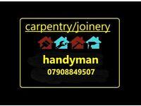 carpentry services/handyman