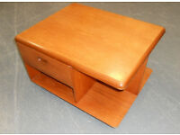 Mid Century Meredew Teak Coffee Table with Storage