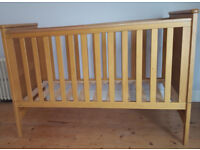 Cot Bed - Mamas and Papas - in good condition