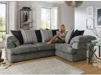 Brand new rico corner sofa(Extra chair)**Free delivery**