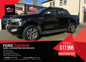 Ford Ranger Wildtrak 4x4 DCB Auto # Tow Bar- Load Liner #