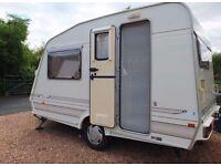 1997 Elddis ELF 13ft 2 Berth Caravan Fully Equipped