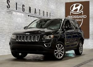 2014 Jeep Compass Limited 4X4 GPS CUIR