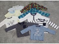 3-6 month old baby boy clothes **£25**