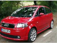 BEAUTIFUL AUDI A2 1.6 FSI SPORT RARE VORTEX KIT FOR REPAIRS OR SPARES