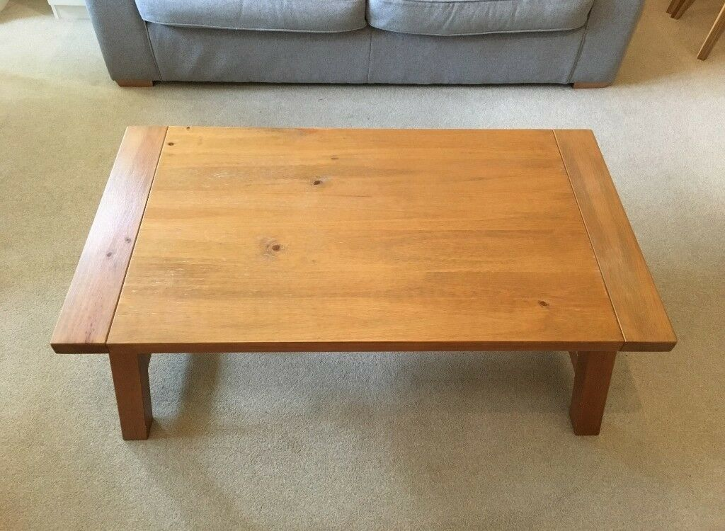 Large Rustic Wood Coffee Table In Chichester West Sussex Gumtree