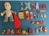 In the Night Garden -- Iggle Piggle talking soft toy, figures, playing cards