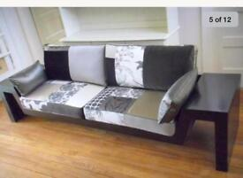 High end London designer, Squint, sofa settee couch
