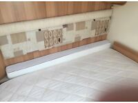 Caravan Duvalay Mattress Topper - shaped for bed
