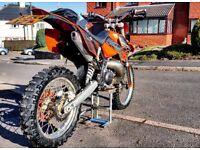 Ktm exc 300 fully legal enduro bike with mot