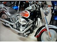 Harley Davidson FLSTFI fatboy 2006 low mileage very good condition ,low miles.