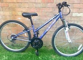 Girls/Ladies Apollo Suspension Mountain Bike 24inch Wheels