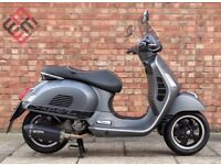 Vespa GTS 125cc (65 REG), Immaculate condition with only 3100 miles!