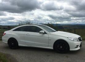 Mercedes E350 CDI AMG LINE Coupe BlueEffic White - Not M3, Range Rover, Porsche