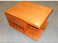 Mid Century Meredew Teak Coffee Table with Storage