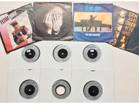 "10 Elton John Vinyl Singles 7"" 45rpm 4 in PS 6 in new white sleeves Pvt Collection"