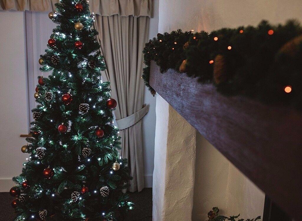 Christmas Tree Slim Dobbies Premium Quality 6ft / 180cm
