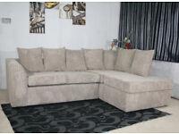 Dylan Jumbo Cord Brand New Corner Sofa 😍😍😍