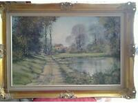 Original oil painting on canvas signed by the artist