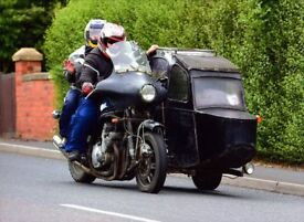 Classic Motorcycle Sidecar For Sale