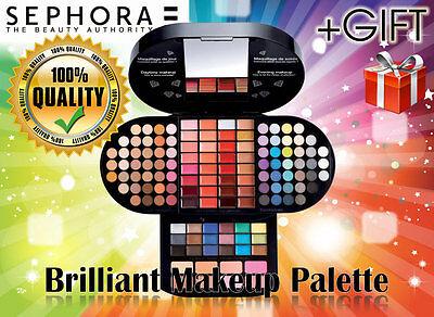 Sephora Brilliant Makeup make up eyeshadow,lip gloss eye shadow Palette ORIGINAL