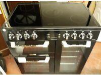 leisure cuisinemaster 90cm wide electric ceramic range cooker