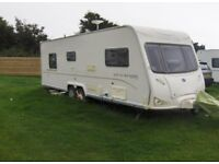 Bailey senator louisiana caravan 4 berth island bed 2008 NOW REDUCED.