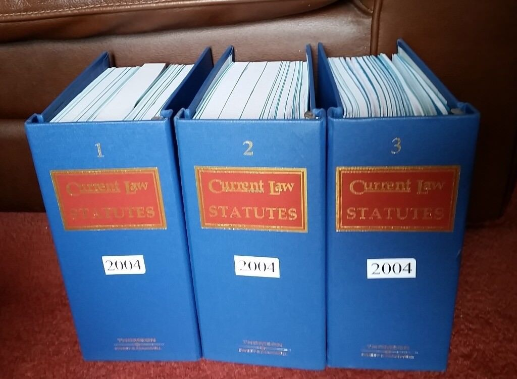 collection of Law books