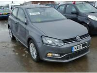 VOLKSWAGEN POLO 2010-2017 BREAKING ALL ENGINES AND PARTS.