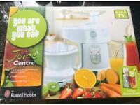 Russell Hobbs You are what you eat juicer and citrus press - never used or unpacked